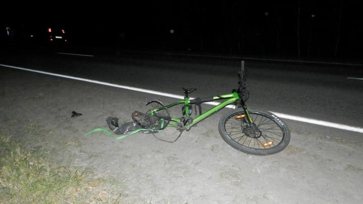В аварии в Каргапольском районе погиб велосипедист