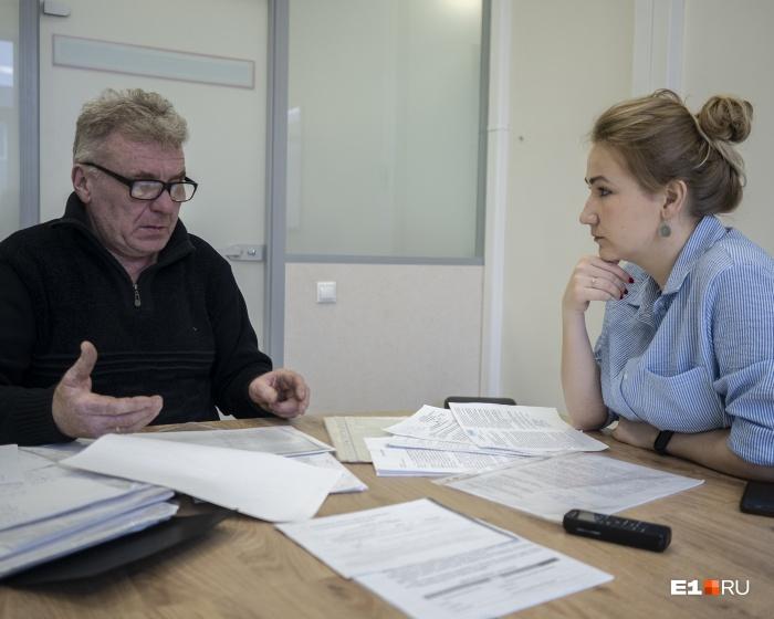 Александр Суздалов снимает жильё, потому что в его коттедж его не пускают