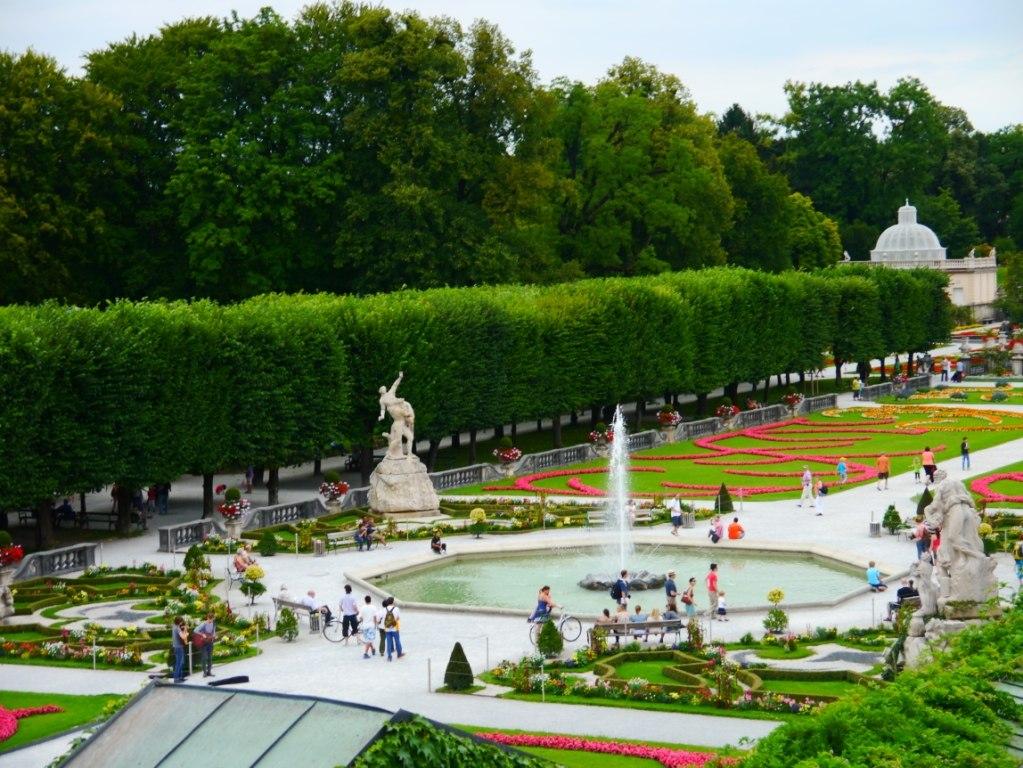 Сады Зальцбурга