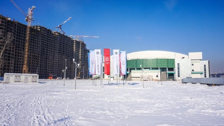 Новая арена «Платинум» изнутри. Что показывали Путину