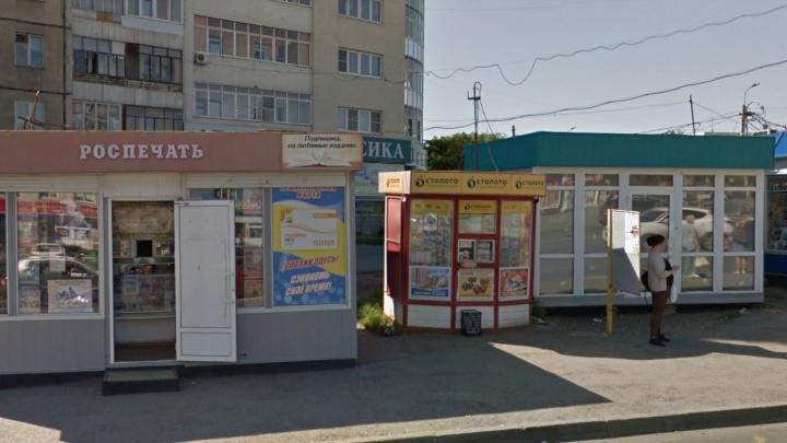 Оживлённый перекрёсток на Северо-Западе Челябинска зачистили от ларьков