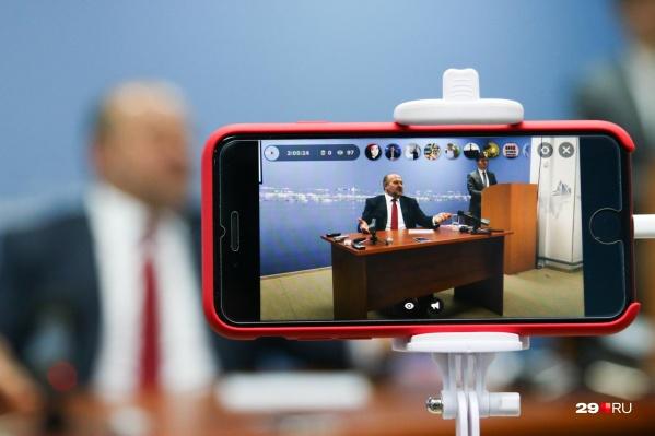 Игорь Орлов решил в социальных сетях ответить на накопившиеся у северян вопросы по теме Шиеса