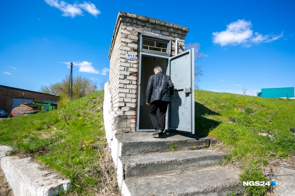 Убежище РЖД недалеко от вокзала