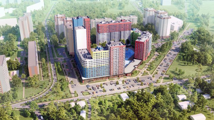 «Стройтэк» начал возведение «сладкого» жилого комплекса на северо-западе Екатеринбурга