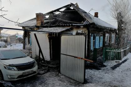 Из-за пожара в Ужуре погибли 4 человека