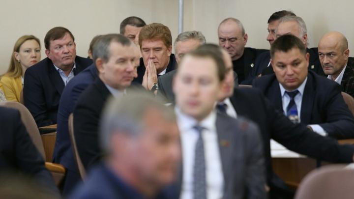 Единогласно: челябинские депутаты приняли отставку Тефтелева и назначили временного мэра Челябинска