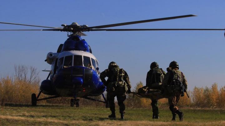 «В нашем деле всё решают секунды»: публикуем яркие кадры учений спецназа под Ростовом