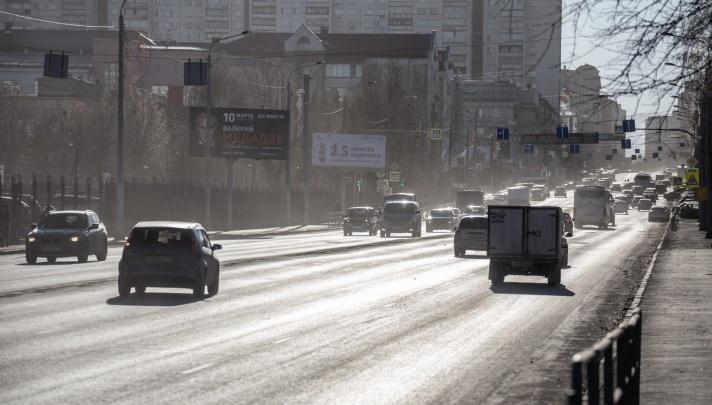 «Много жалоб»: министр экологии потребовал от челябинской мэрии решить вопрос с пылью на дорогах