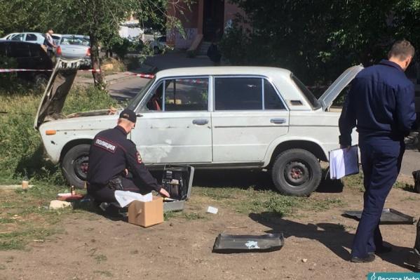 Инцидент произошёл во дворе дома на улице Советской Армии, 51