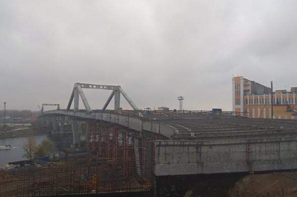 Фрунзенский мост достроят в 2019 году