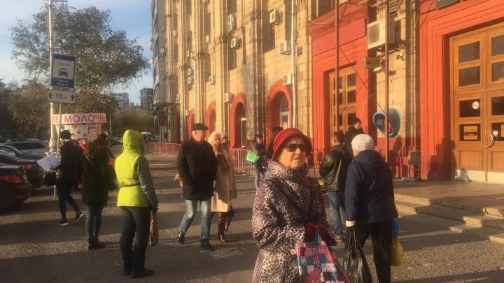 «Ощутили сильную вибрацию»: в Волгограде 180 человек эвакуировали с главпочтамта