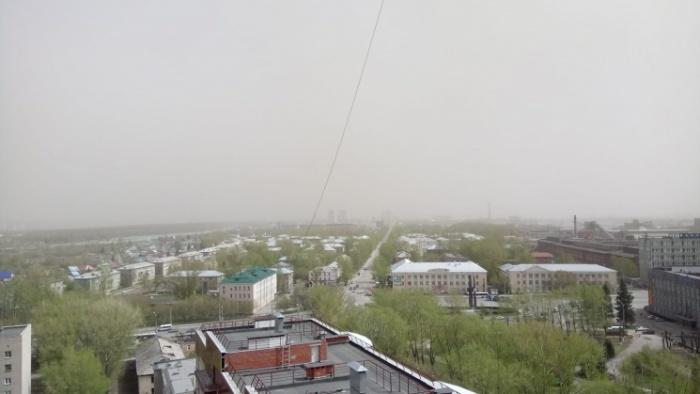 Ураган 8 мая в Новосибирске