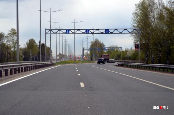 Работы по выпрямлению шоссе уже начались