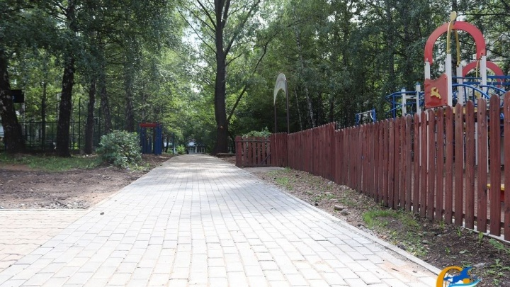 В Октябрьском районе Уфы появился новый скверик