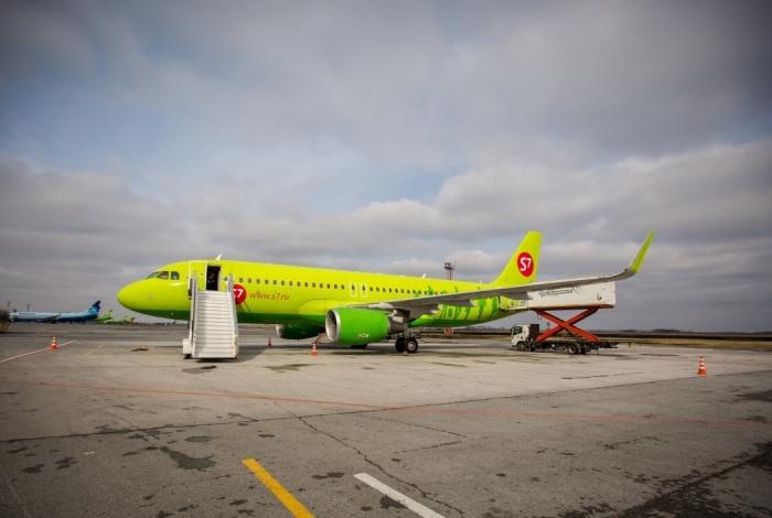 S7 летает в столицу Белоруссии раз в неделю по средам