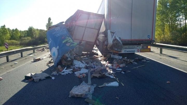 Перед местом аварии ремонтировали дорогу: стали известны детали ДТП на трассе Челябинск — Курган