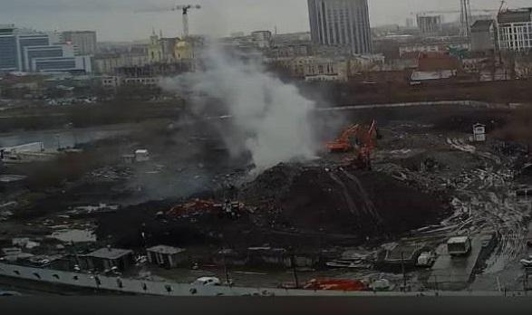 Телебашню снова взорвали — сегодня это произошло почти под землей