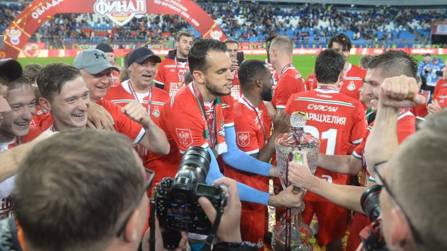 Победа при 38 000 зрителей: «Локомотив» выиграл Кубок России на «Самара Арене»