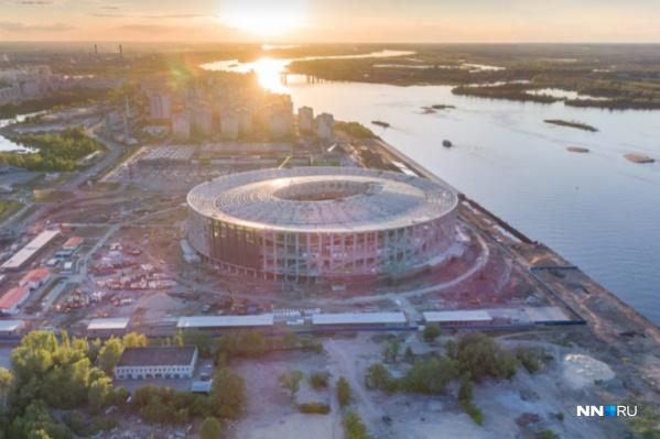 Перспектива жизни стадиона после ЧМ-18 пока не ясна. Фото: Александр Ивасенко