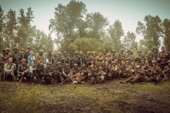 Событие выбрано неслучайно — в этой битве под Ржевом принимала участие 119-я стрелковая дивизия, сформированная в Красноярске