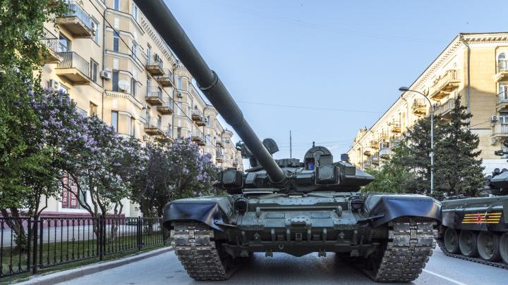 В центре Волгограда 7 мая перекрыли движение