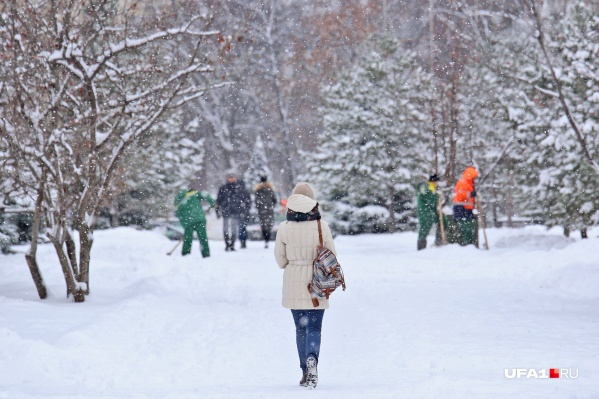 Погода в Башкирии не перестает удивлять