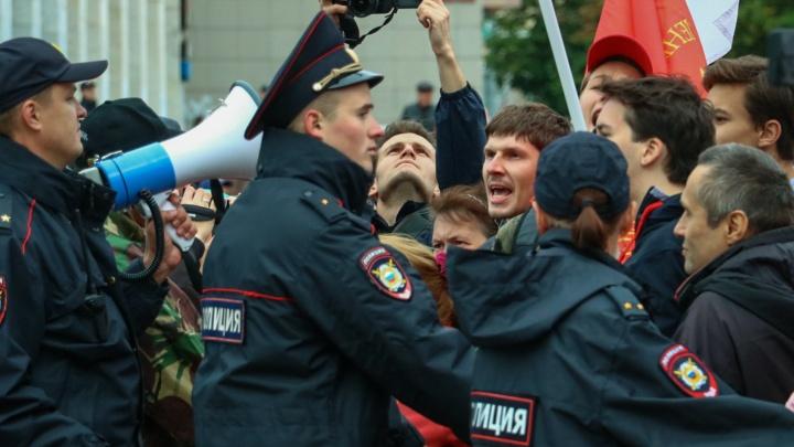 Ночь в полиции, травмы при задержании. Как в Перми прошла акция против пенсионной реформы