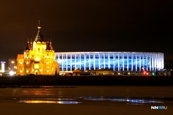 Нижний Новгород привлекает красивыми видами