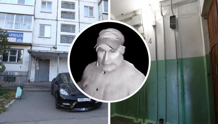 Челябинца, в чулке напавшего на женщину в лифте и попавшего на видео, отдали под суд