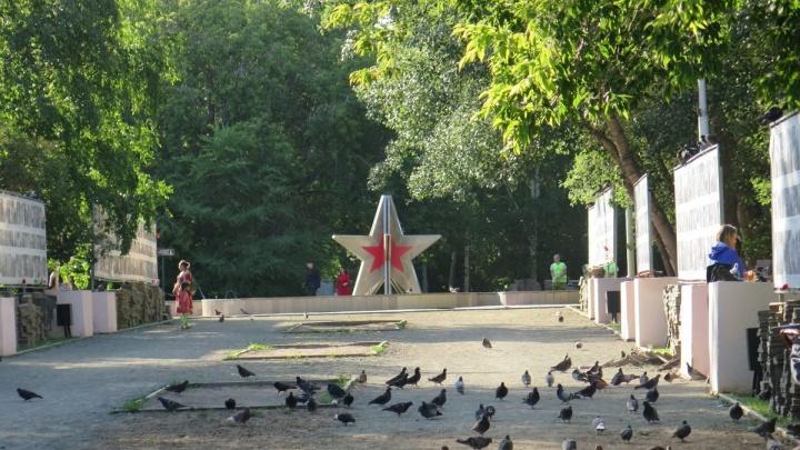 В Кургане на входе в парк Победы установят большой экран