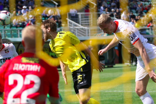 Павел Погребняк забил свой второй гол в чемпионате