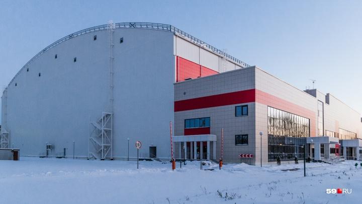Первый футбольный матч в манеже «Пермь Великая» состоится 30 марта