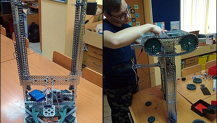 Красноярские школьники создали робота-ревизора для поиска просроченных продуктов и лекарств
