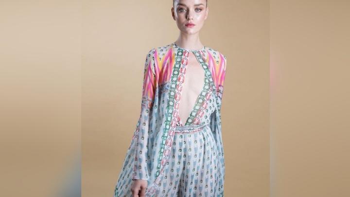 Успешная модель из Красноярска попала на подиум на неделе моды в Лондоне