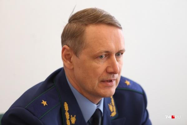 О передаче громкого дела о ДТП в суд объявил прокурор Челябинской области Виталий Лопин