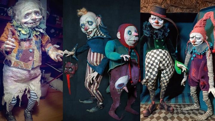 Жутко обаятельные: омская художница создаёт неповторимые куклы