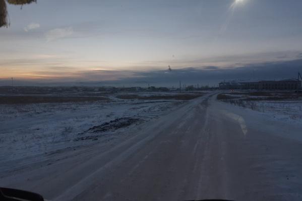 Очевидцы жаловались на густой смог, повисший над городом