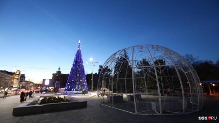 В Ростове на Новый год и Рождество перекроют Большую Садовую