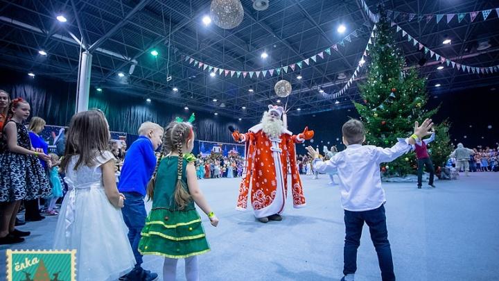 «Чудесный снеговорот»соберёт гостей вокруг «Главной Ёлки Сибири»