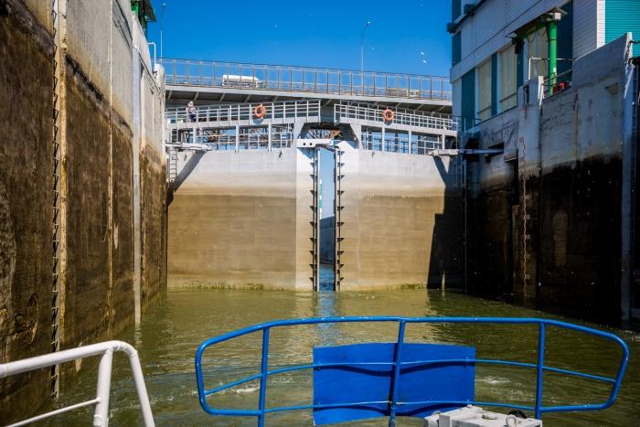 Реконструкция не повлияет на работу моста через канал