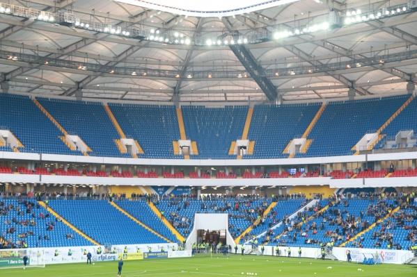 На стадионе «Ростов Арена» планируют проводить не только футбольные матчи, но и концерты и фестивали