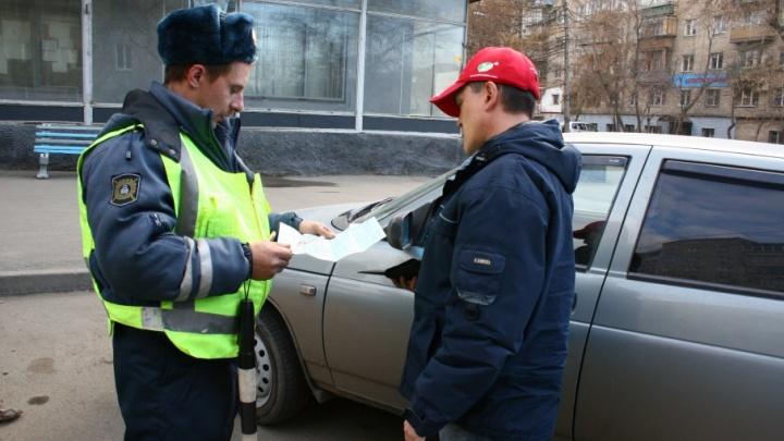 55 пьяных водителей остановила ГИБДД