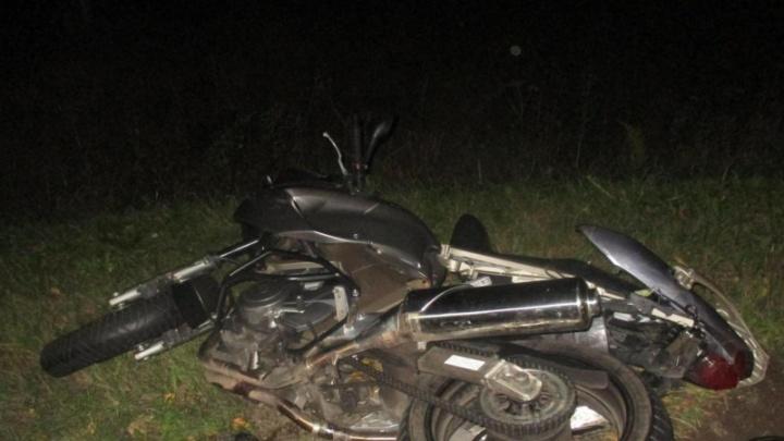 Последний путь: в Ярославской области насмерть разбился мотоциклист