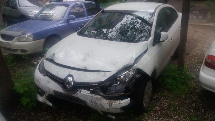 В Чкаловске пьяный водитель на иномарке врезался в другое авто. Пострадал ребёнок