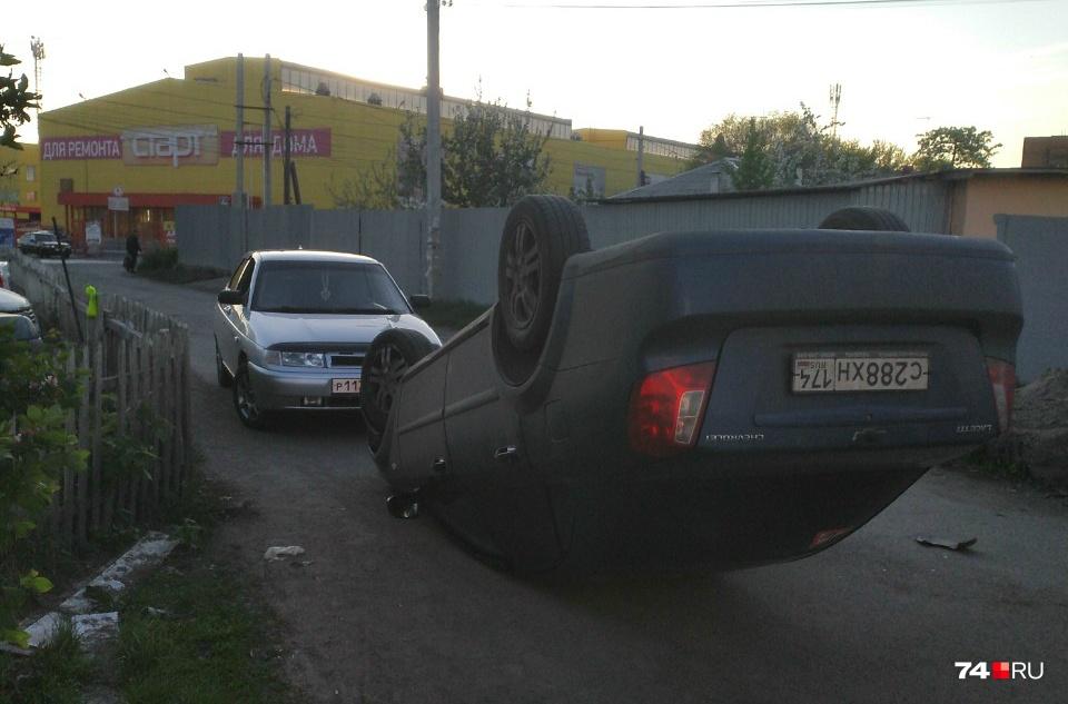 Авария произошла около восьми часов вечера