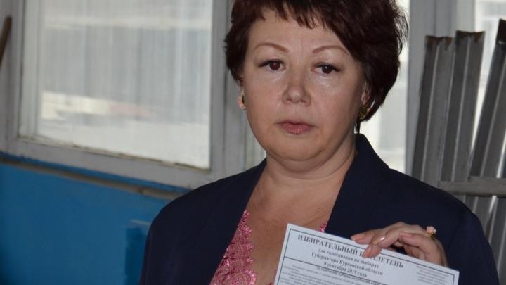 В Курганской области избирком получил из печати бюллетени для выборов губернатора