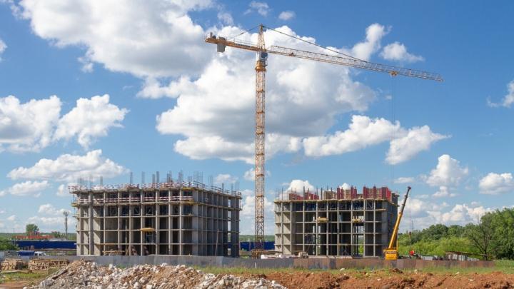 На Ракитовском шоссе за ТЦ «Московский» начали строить 25-этажный жилой комплекс