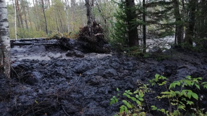 Сотрудники МЧС будут мониторить ситуацию на горе Песчаной, где проснулся грязевой вулкан