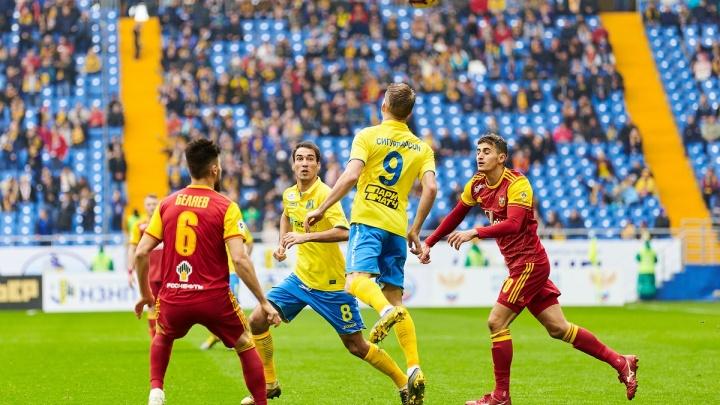 «Ростов» против «Арсенала»: на «Арене» состоялся первый матч этой весны