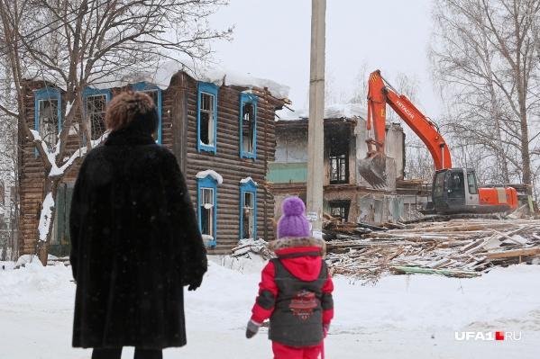 Глава района пообещал закончить демонтаж до 20 февраля